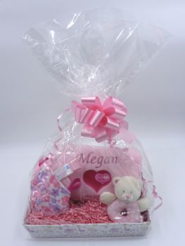 Personalised Baby Girl Gift Set - Standard